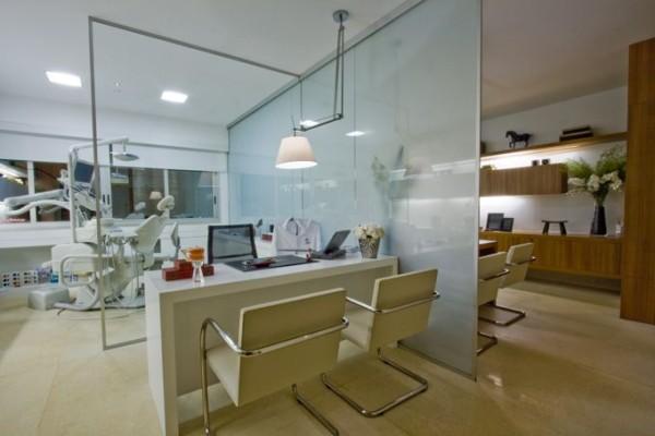 clinica dentista projeto moderno atual