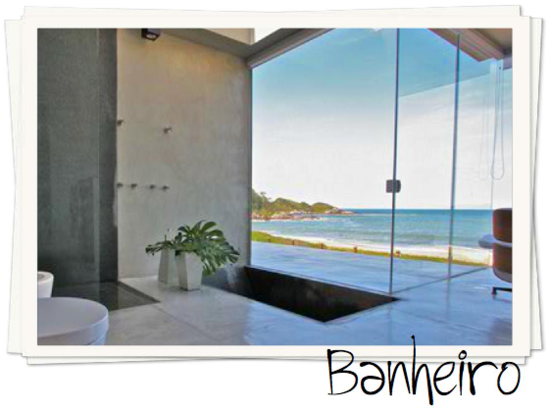 banheiro com vista
