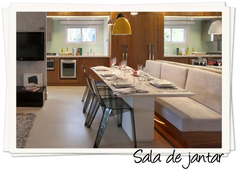 Banco Na Sala De Jantar ~ Arquivo para sala de jantar  assim eu gosto  blog de decoração