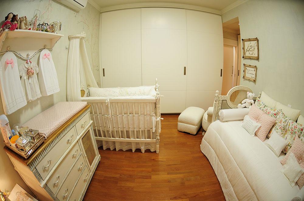 quarto de bebe romantico