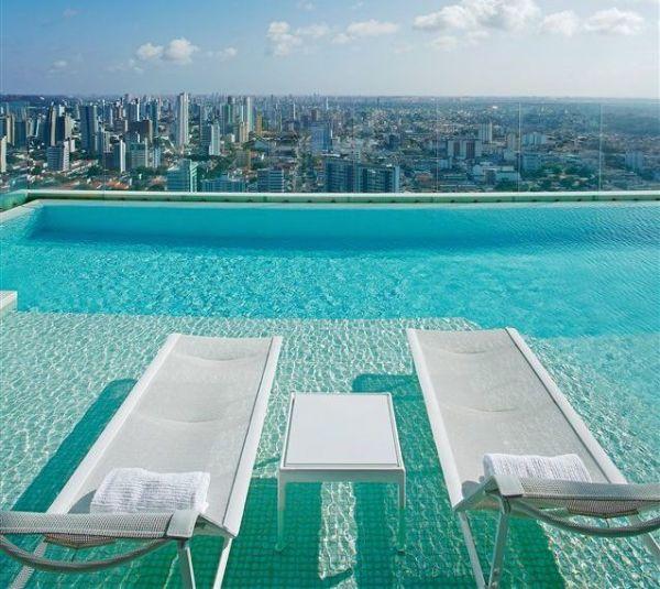 apartamentos com piscina