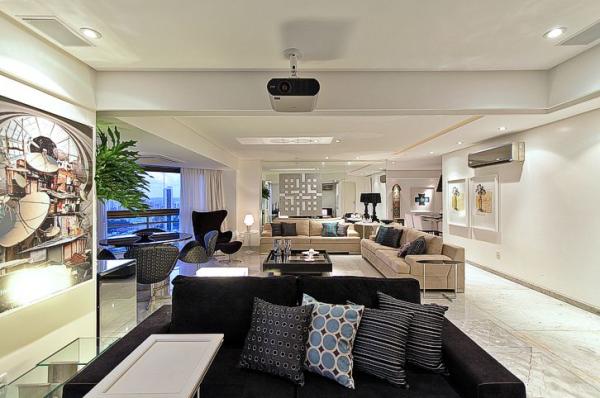 decoracao-sofisticada-com-sofa-preto
