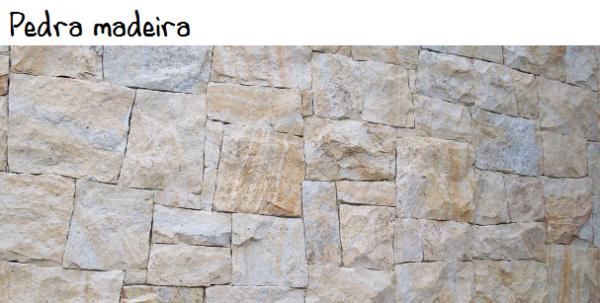 pedra madeira