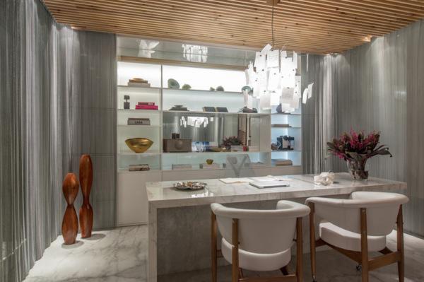 mesa de marmore branco