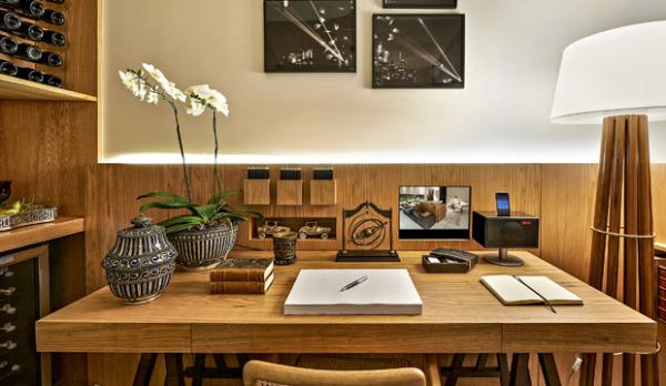 mesa de trabalho em casa