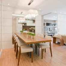 Salas de jantar (6) – mesa encostada