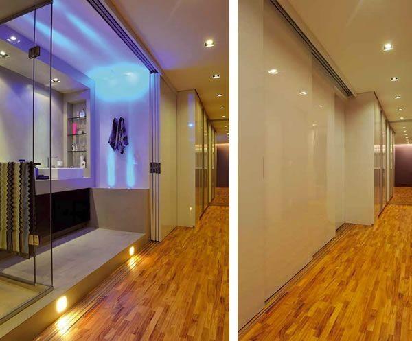 porta para isolar o banheiro