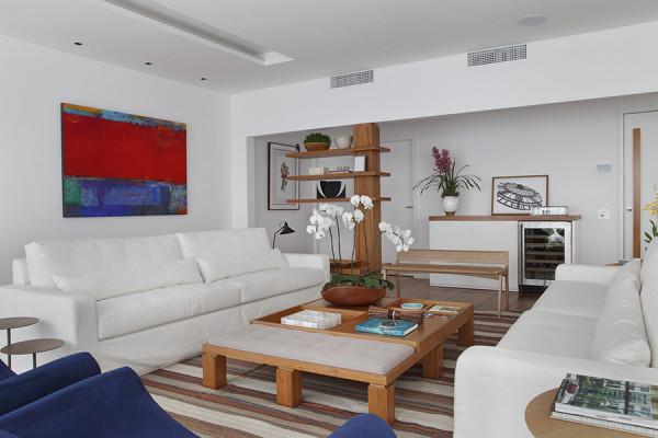 Resultado de imagem para sala com dois sofás