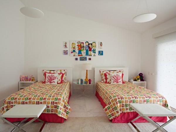 como decorar quartos com duas camas