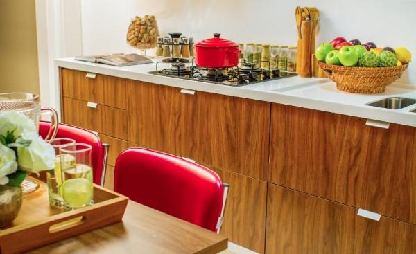 cozinha armario madeira