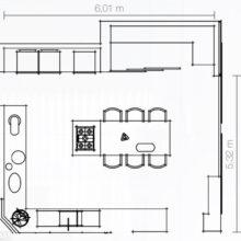 Cozinha linda (3) – grande e com ilha