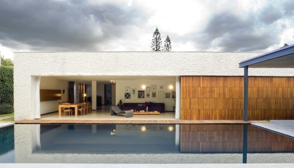 projeto fachada casa madeira
