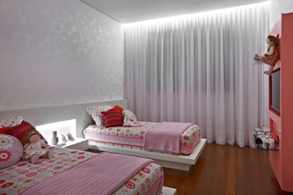 quartos infantis com duas camas