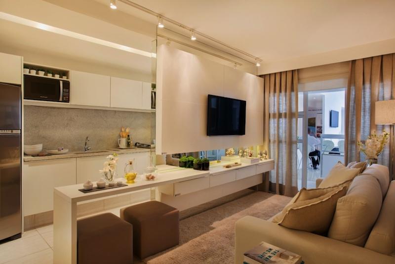 Decoração de apartamentos pequenos e modernos