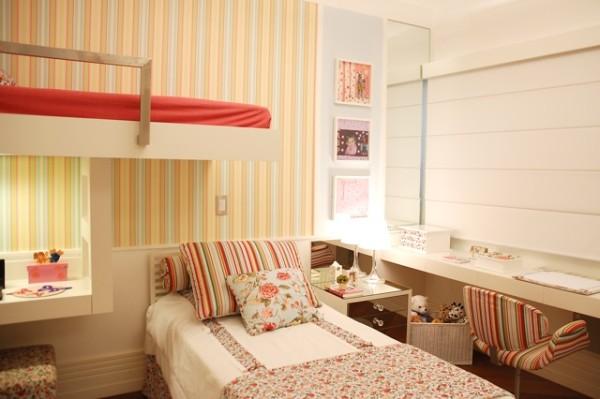 decoracao quartos de duas meninas escrivaninha