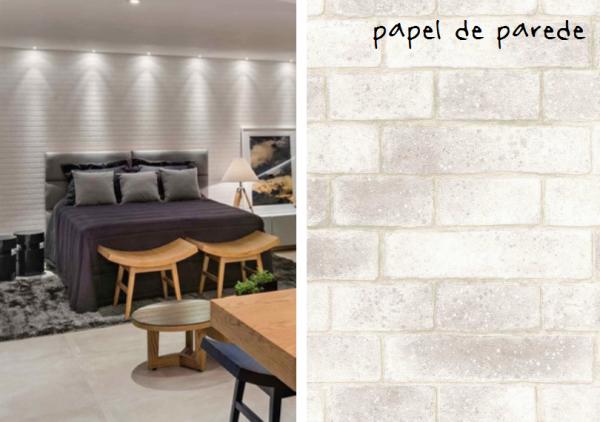 dica papel parede tijolinho branco assim eu gosto decoracao