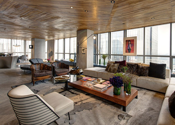 forro de madeira na sala de estar projeto fernanda marques arquitetura blog assim eu gosto