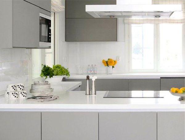 cozinhas cinzas modernas tendencia casa cor