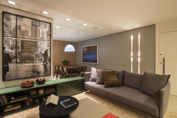 apartamento sala integrada estilo contemporaneo blog assim eu gosto