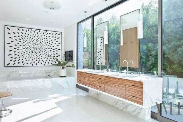 banheiro moderno casa contemporanea arquitetura