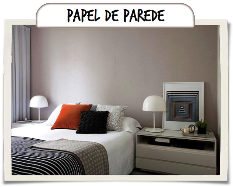 cabeceira cama papel parede couro