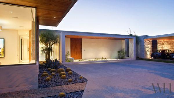 casa contemporanea arquitetura ideias entrada da casa garagem