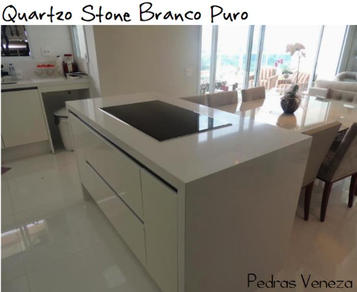 quartzo stone branco puro pedras veneza