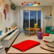 Sala íntima e brinquedoteca