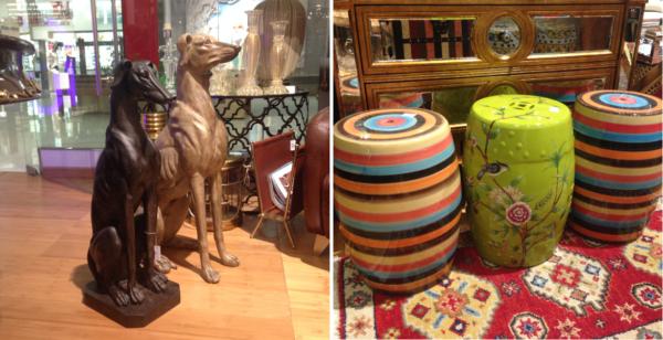 cachorros na decoracao ireeverente maria pia loja