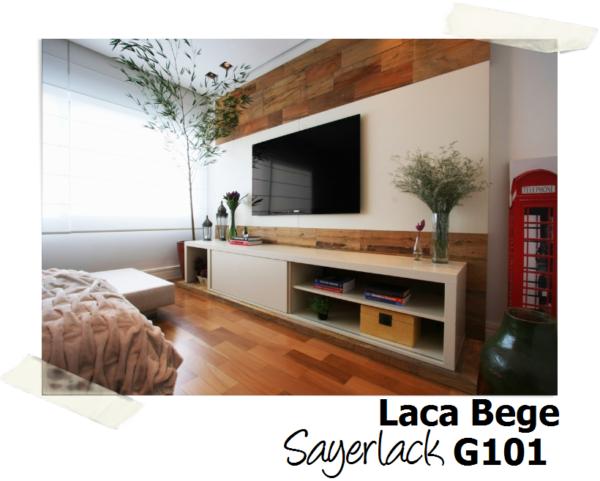 cor laca bege sayerlack g101