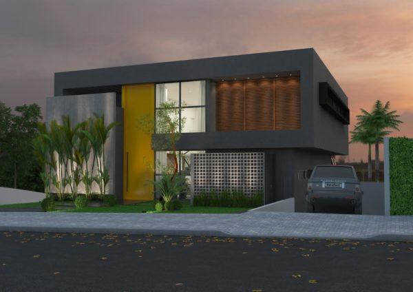 Fachadas de casas bonitas assim eu gosto for Casa moderna 11