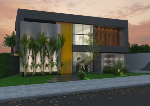 fachadas de casas maravilhosas