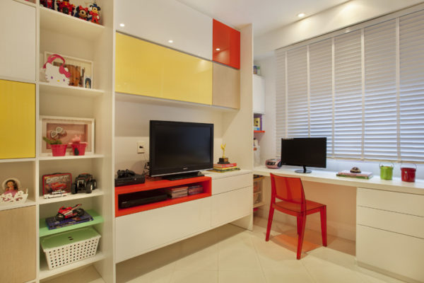 quarto infantil unissex moveis planejados