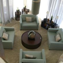 Bate papo na sala de estar
