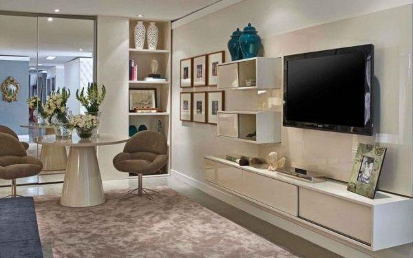 movel tv quarto casal neutro