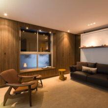 Apartamento pequeno multifuncional