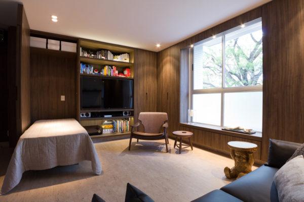 apartamento pequeno com espaco para hospedes
