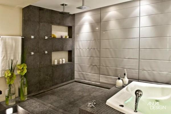 banheiro casal ducha teto nicho spa jacuzzi