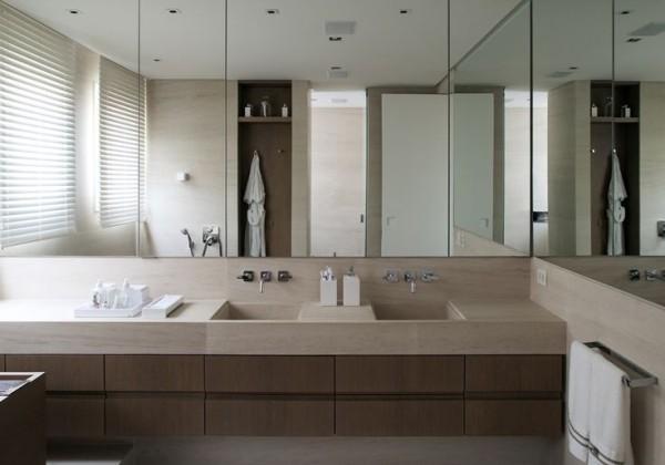 banheiro cuba esculpida moldada