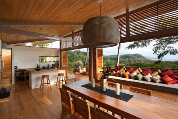casa piso telhado estrutura madeira projeto arquitetura
