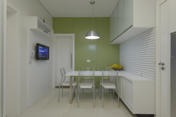 copa parede verde armarios laca branca alto brilho pendente