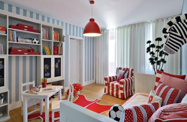 decoracao brinquedoteca casa colorida unisex