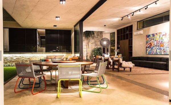 esquadria aluminio piso nivelado sala varanda trilho embutido