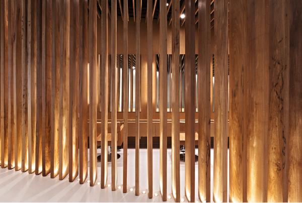 pergolado madeira iluminacao piso projeto