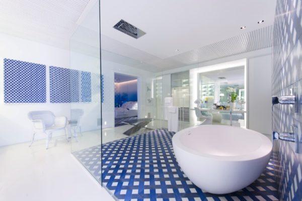 banheiro moderno casa cor migotto ducha teto