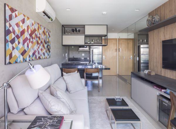 ideias decoracao apartamento pequeno Carpaneda Nars