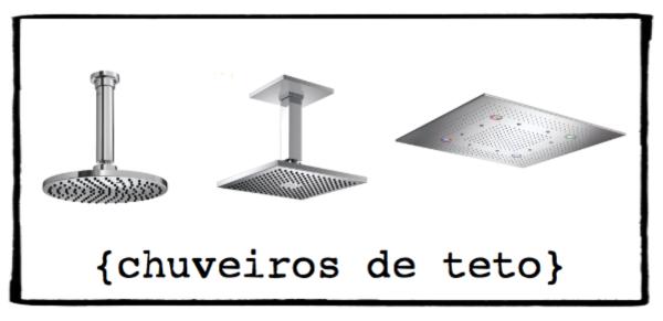 modelos chuveiros de teto deca