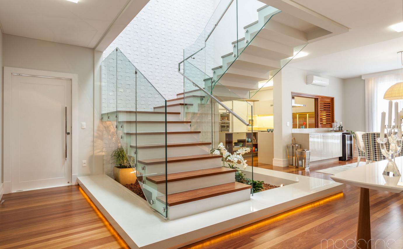 #402812 seleção de escadas e guarda corpo com os materiais mais atuais 194 Janelas De Vidro Natal